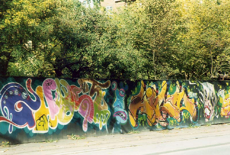 Graffitti Near Christiana in Copenhagen, Denmark