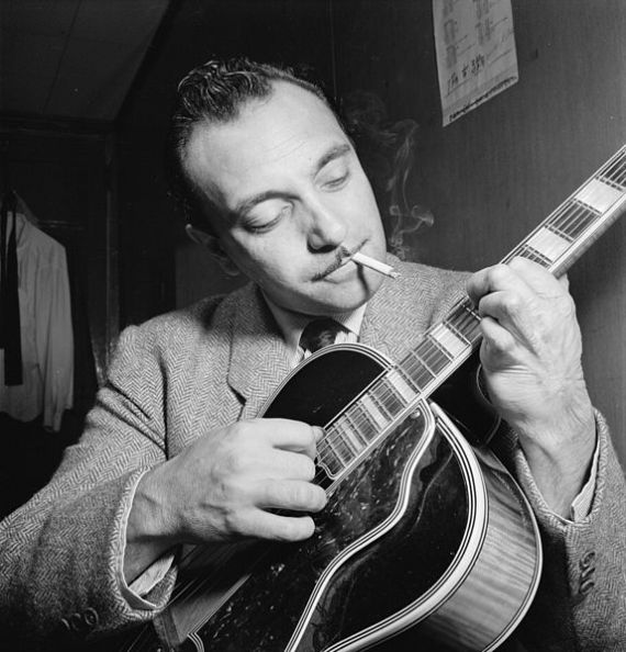 "Django Reinhardt became a world renown jazz guitarist, despite a badly burned and deformed ""finger"" hand."