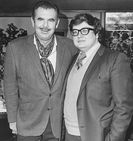 Russ_Meyer_and_Roger_Ebert_by_Roger_Ebert