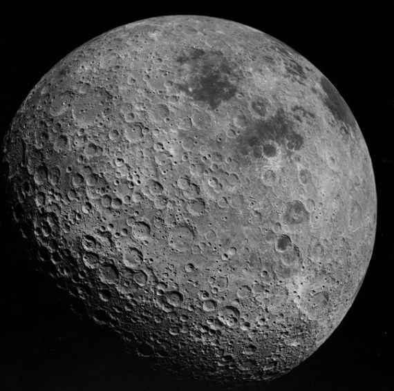 Far side of the moon, photographed by Apollo 16