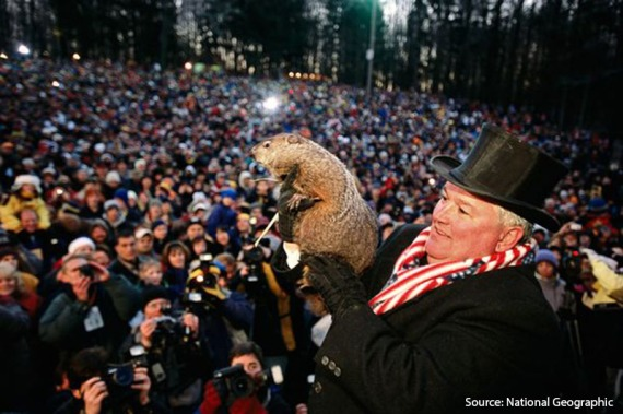 Over the years the popularity of Groundhog Day has risen remarkedly