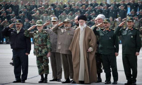 Hardliners of the Iranian Revolutionary Guard